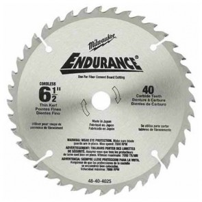 Milwaukee  6-1/2 in. Circular Saw Blade (48 Tooth)