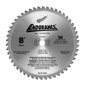 Milwaukee 8 in. Circular Saw Blade (50 Tooth)