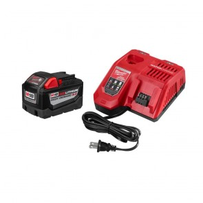 Milwaukee M18 REDLITHIUM HIGH DEMAND 18V 9.0 Ah Lithium-Ion Starter Kit