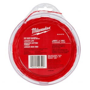 "Milwaukee .080"" X 150 Ft Trimmer Line"