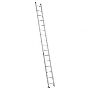 Werner 16ft Type IAA Aluminum Round Rung Straight Ladder