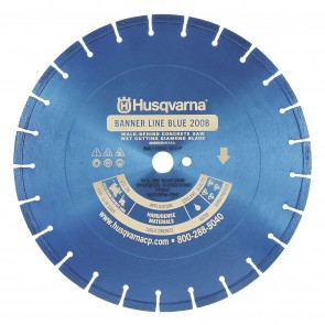 Husqvarna 24 in x .165 Blue 200B General Purpose Diamond Blade