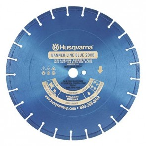 Husqvarna Blue 200B General Purpose Diamond Blade, 30-Inch X .165-Inch