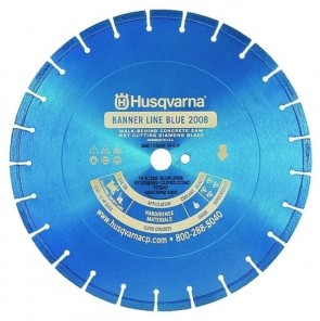 "Husqvarna Vanguard II Blue 24"" (600) x .165x DP Diamond Blade"