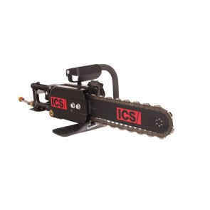 ICS 701-A Saw Pneumatic 20in Powergrit Chainsaw for Cutting Ductile Pipe
