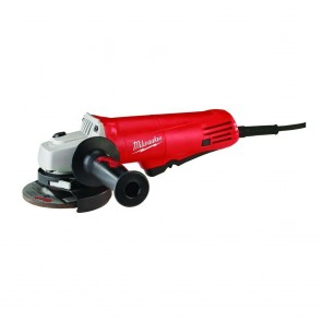 Milwaukee 4-1/2 in. 7.5 Amp Paddle Switch Small Angle Grinder with Lock-On Button
