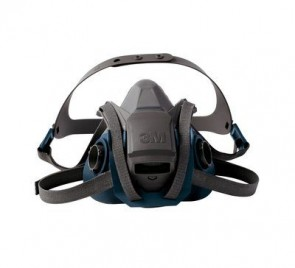 3M™ Rugged Comfort Quick Latch Half Facepiece Reusable Respirator, Large