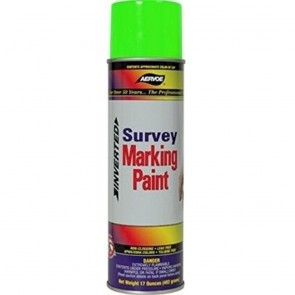 Aervoe Florescent Green Survey Marking Paint