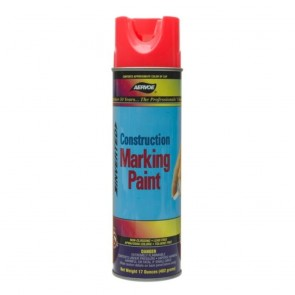 Aervoe Red Construction Marking Paint