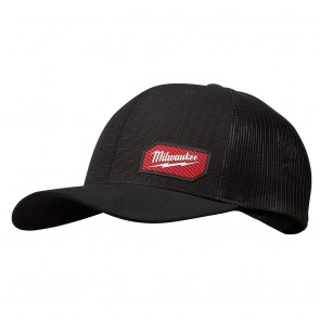 Milwaukee GRIDIRON™ Snapback Trucker Hat, Black (