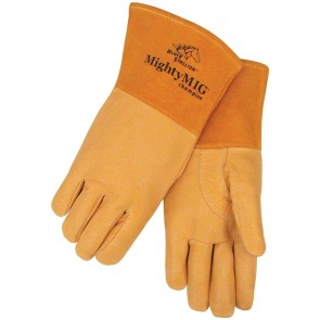 Revco/Black Stallion® MightyMIG® Premium Grain Pigskin MIG Glove, Large