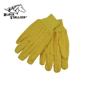 Revco/Black Stallion® Gold Cotton Nap Chore Industrial Glove, Large