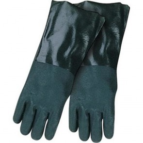 "Revco/Black Stallion® PVC Dipped Synthetic Gloves - 14"" with Sandy Finish"