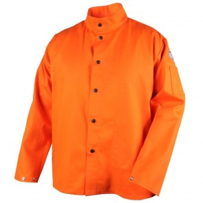 Revco/Black Stallion® TruGuard™ 200 FR Cotton Welding Jacket, Safety Orange, XX-Large