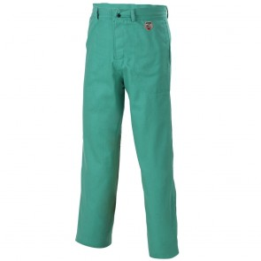 "Revco/Black Stallion® Flame-Resistant Cotton Work Pants, Green,34"" Inseam, 38"" Waist"