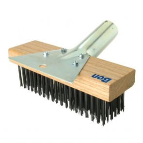 Bon Tool Combo Wire Block Brush/Scraper