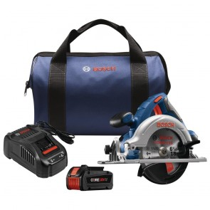 "Bosch 18V 6-1/2"" Circular Saw Kit W/ CORE18V Battery"