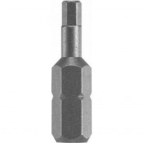"Bosch Extra Hard 1"" Allen Security Driver Bit 5/16"" Point, 1/4"""