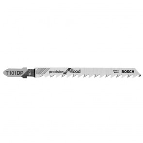Bosch 5 pc. 4 In. 6 TPI Precision for Wood T-Shank Jig Saw Blades