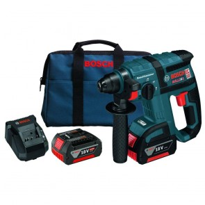 Bosch 18 V 3/4 In. SDS-plus® Brushless Rotary Hammer Kit with Chisel Function