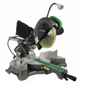 Hitachi 8-1/2 in. Sliding Compound Miter Saw with Laser and Light