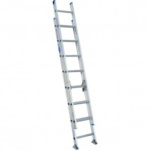 Werner 16ft Type I Aluminum D-Rung Extension Ladder