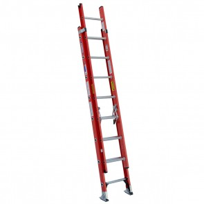 Werner 16ft Type IA Fiberglass D-Rung Extension Ladder
