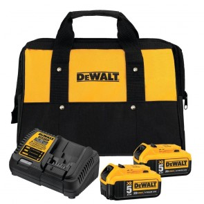 DeWalt 20V 5.0AH XR Li-Ion Battery Starter Kit