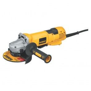 "DeWalt 4-1/2""/ 5"" High Performance Paddle Switch Grinder with No Lock On"