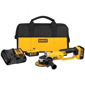 DeWalt 20V MAX Cordless Lithium-Ion 4-1/2 in. Cut Off Tool Kit (5.0 Ah)