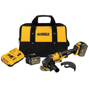 DeWalt 60V MAX FLEXVOLT Cordless Lithium-Ion 4-1/2 in. - 6 in. Grinder with 2 FLEXVOLT Batteries