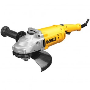 DeWalt 9 in. 6,500 RPM 4 HP Angle Grinder with Trigger Lock-On