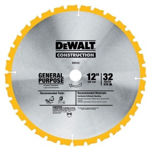 DeWalt 12 in. 32T Series 20 Circular Saw Blade