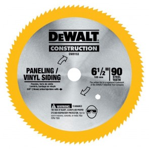 DeWalt 6-1/2 in. 90 Tooth Circular Saw Blade