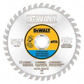"DeWalt 5-1/2"" 30T Stainless Steel Metal Cutting"