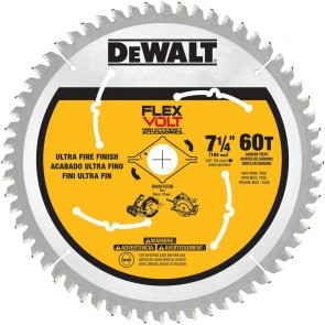 DeWalt 7-1/4 in. 60T Circular Saw Blade