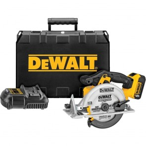 DeWalt 20V MAX Cordless Lithium-Ion 6-1/2 in. Circular Saw Kit