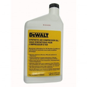 DeWalt Synthetic Compressor Oil