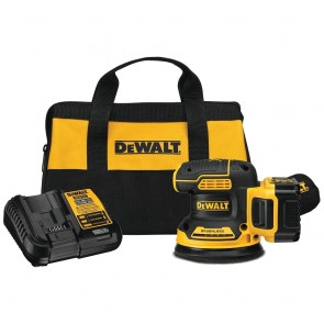 "DeWalt 20V MAX 5"" Cordless Random Orbital Sander Kit (5.0 Ah Battery)"