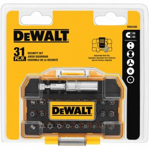 DeWalt 31 Piece Assorted Security Bit Set