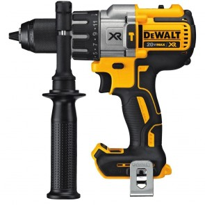 DeWalt 20V MAX XR Cordless Lithium-Ion Brushless 3-Speed 1/2 in. Hammer Drill (Bare Tool)