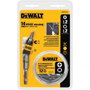 DeWalt 14-Piece Pivot Holder Screw Driving Set