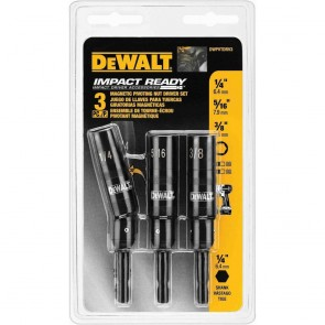 DeWalt Pivoting Magnetic Nut Drivers (3pc)