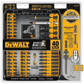 DeWalt 40-Piece Impact Ready Screwdriving Bit Set