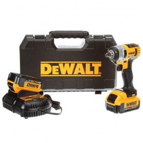"DeWalt 20V MAX* 1/2"" Impact Wrench with Detent Pin Kit (4.0 Ah)"