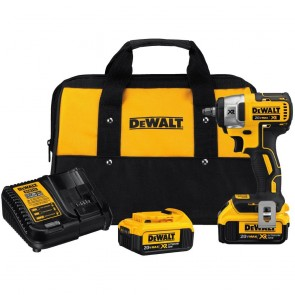 DeWalt 20 V MAX* XR 3/8 In. Compact Impact Wrench Kit