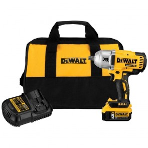 DeWalt 20V MAX XR Cordless Lithium-Ion 1/2 in. Brushless Detent Pin Impact Wrench Kit