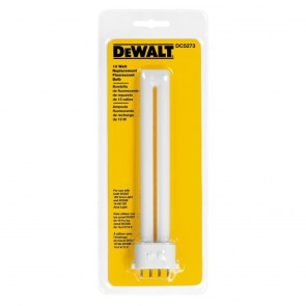DeWalt 13-Watt Fluorescent Replacement Bulb for DC527 AND DC528
