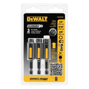DeWalt 3-Piece Cleanable Nutsetter Set