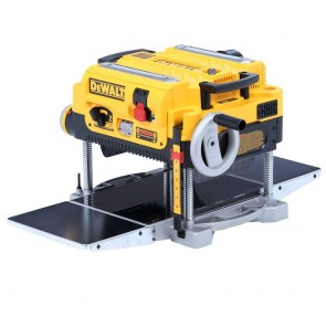 DeWalt 13 in. Two-Speed Thickness Planer with Support Tables and Extra Knives